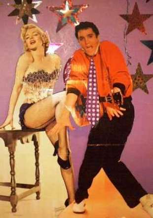 Elvis and Marilyn Hanging Stars