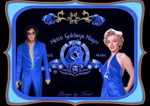 Elvis and Marilyn Metro Goldwyn Meyer
