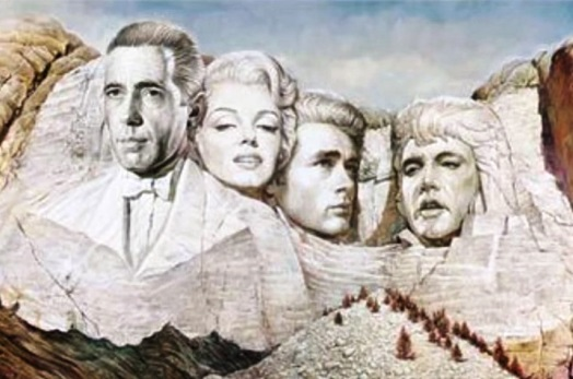 Elvis and Marilyn Mt. Rushmore