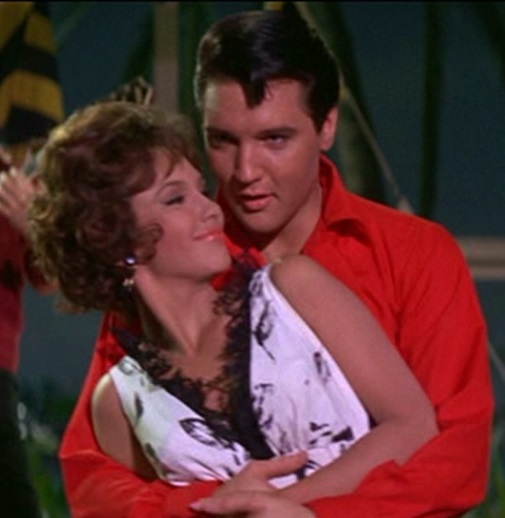 Elvis Hugging Mary Ann Mobley in Girl Happy