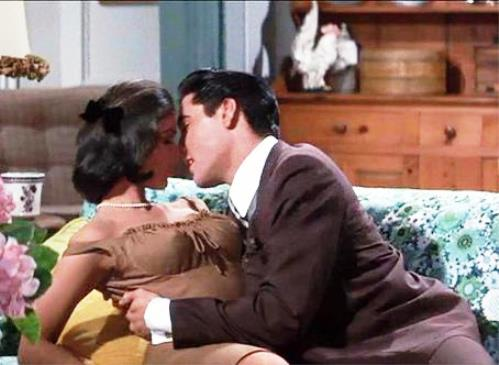 Elvis and Yvonne Craig in It Happened at the World's Fair