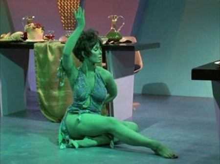 Yvonne Craig in Star Trek