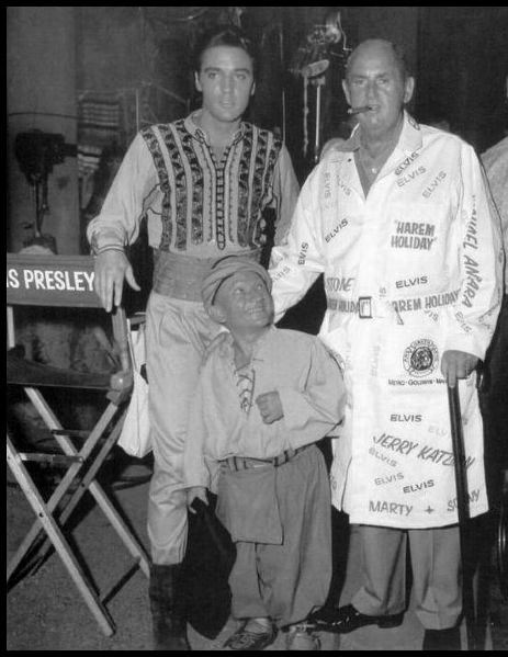 Colonel Parker in Harem Holiday Robe Worn with Elvis on Set