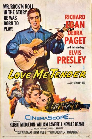 Lot 41 Love Me Tender Poster