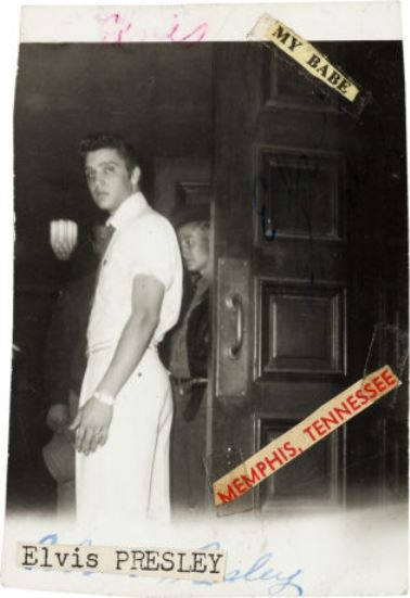 Early Unreleased Elvis Photo (Shreveport, 1954-5)