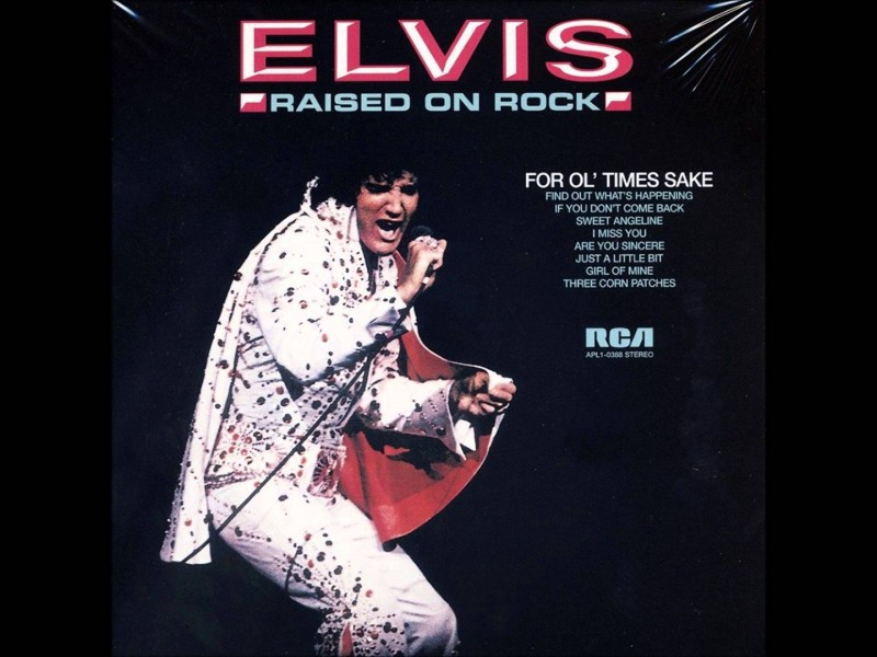 Elvis' Album Raised on Rock