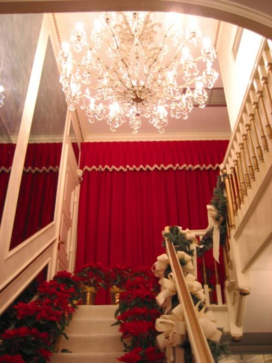 Front Entrance Stairway at Elvis' Graceland