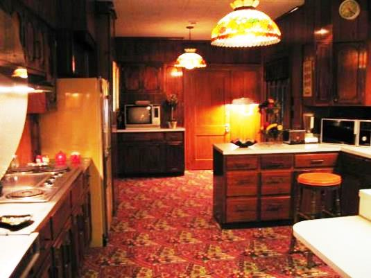 Kitchen in Elvis' Graceland