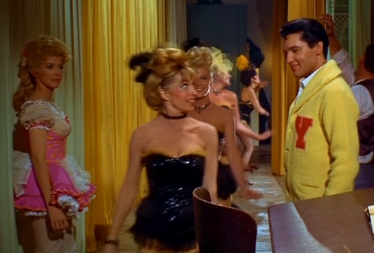Elvis Checking out the Ladies in Frankie and Johnny