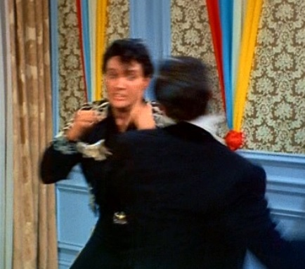 Elvis Fighting with his Boss in Frankie and Johnny