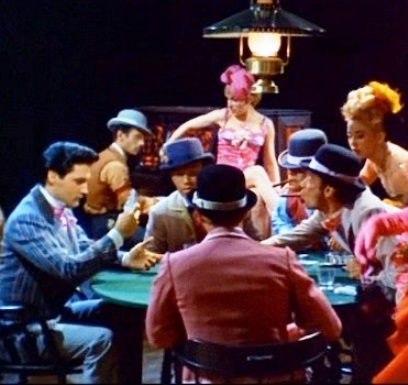Elvis Playing Poker in Frankie and Johnny