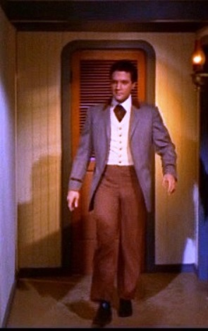 Elvis in his Gambling Clothes in Frankie and Johnny
