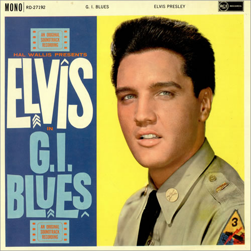 Elvis presley - G.I. Blues Album