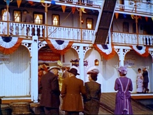 SS Mississippi Queen Riverboat from Frankie and Johnny