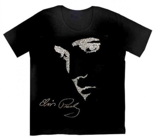 Christine Alexander Elvis Presley Profile Women's T-Shirt