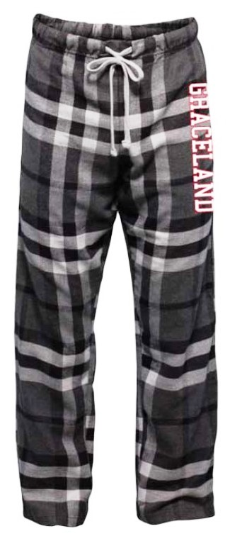 Graceland Black and White Plaid Lounge Pants