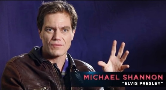 Michael Shannon Plays Elvis Presley