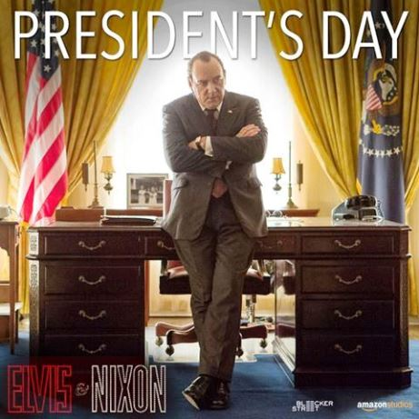 President's Day Kevin Spacey as Nixon