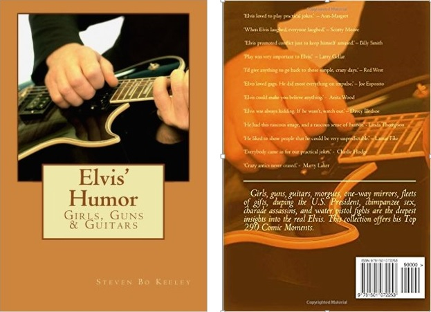 Elvis' Humor - Front and Back Covers