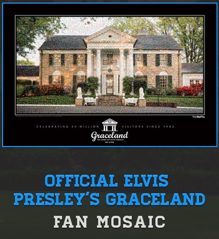 Graceland Fan Mosaic