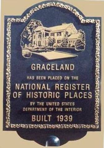 Graceland Plaque