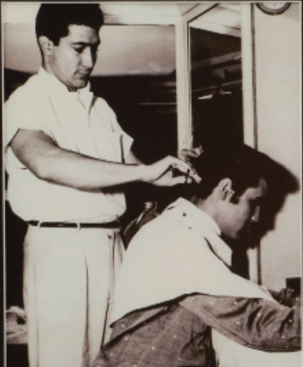 Homer Gilleland Cutting Elvis' Hair