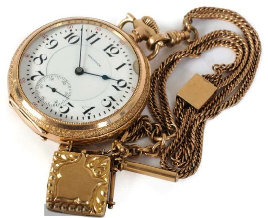 Elvis Presley's Waltham Pocket Watch