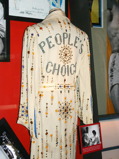 People's Choice Robe Elvis Gave to Mohammed Ali