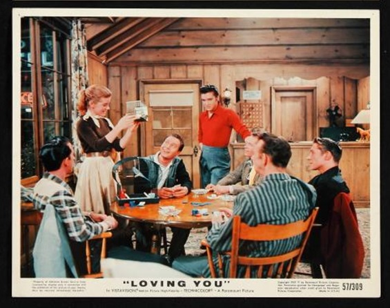 Lobby Card for Loving You