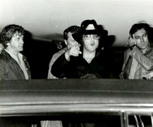 February 12, 1977 - Elvis Presley Palm Beach International Airport 3