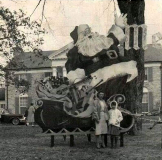 First Christmas at Graceland 1957