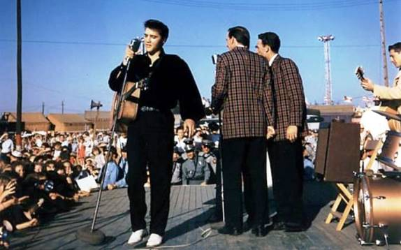Elvis '56 Tupelo Concert Afternoon Show - In Color