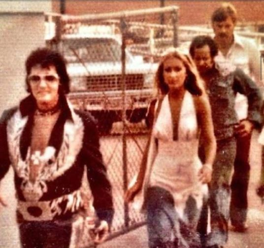 Elvis Linda Joe and Dick Grob