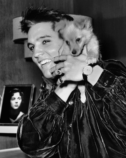 Elvis Presley and Sweet Pea - October 18, 1956