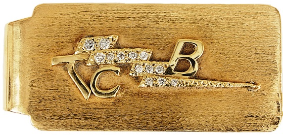 Elvis TCB Money Clip