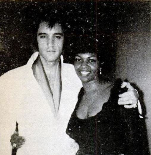 Elvis and Cissy Houston