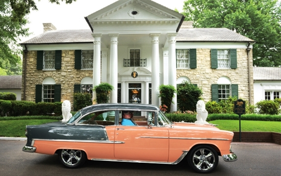 Photo Shoot of Your Classic Car or Motorcycle in Front of Graceland