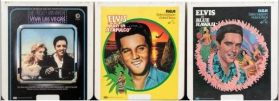 SpectraVision Video discs of Elvis' Movies