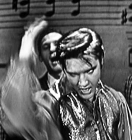Elvis Doing Don't Be Cruel on Ed Sullivan Show 2