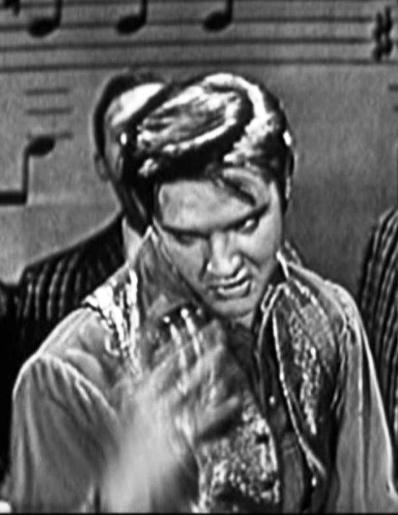 Elvis Doing Don't Be Cruel on Ed Sullivan Show