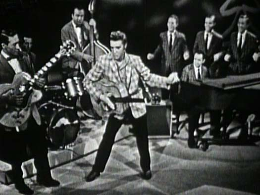 Elvis Doing Ready Teddy on Ed Sullivan 09-09-56