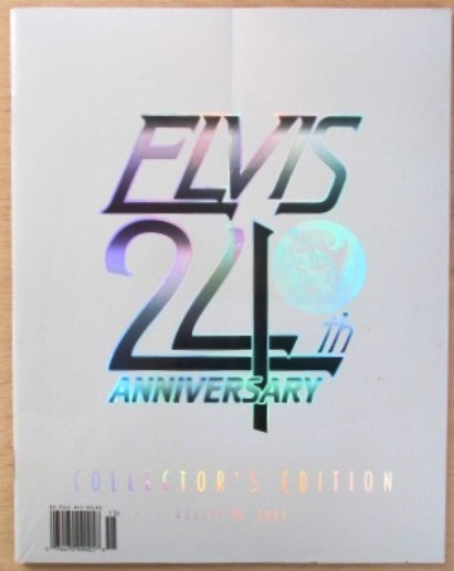 Elvis International Magazine 24th Anniversary Collectors Edition