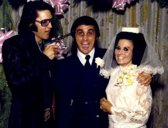 Elvis at George Klein's Wedding 1970