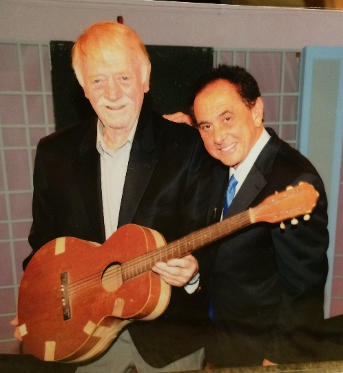 Red West And George Klein with Elvis first guitar
