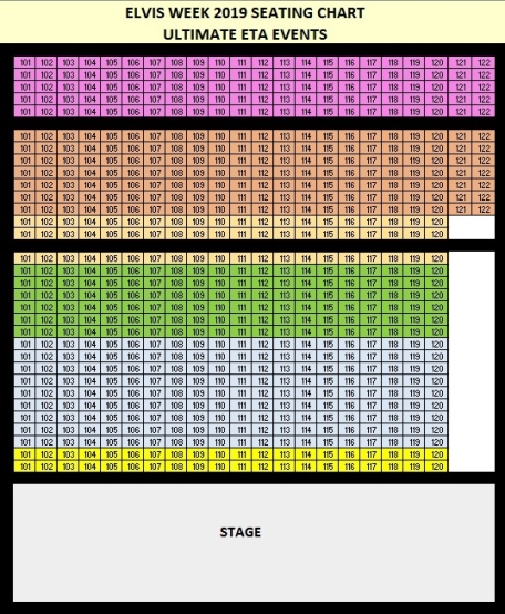 Soundstage Seating chart
