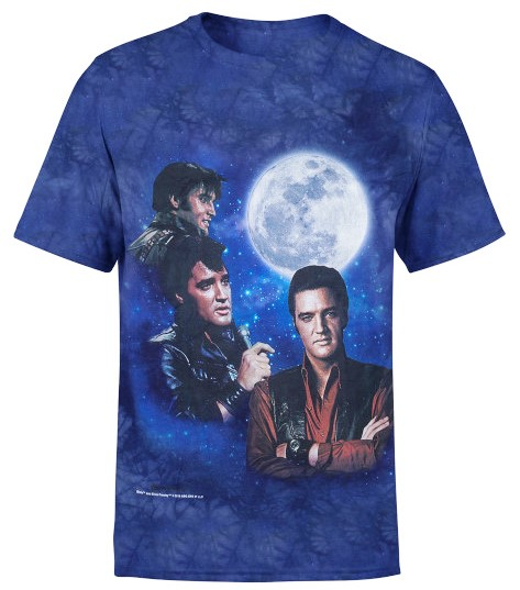 3 ELVIS MOON T-SHIRT