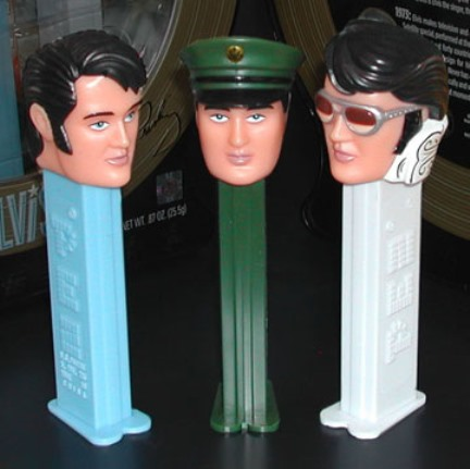 All Three PEZ Elvis