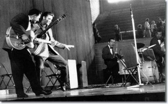 Elvis Performing on May 27, 1956