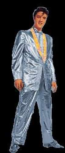 Elvis Silver Lame Suit
