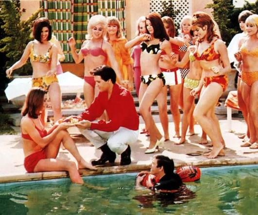 Elvis and Bikini Girls in Spinout